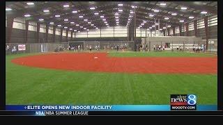 Elite opens new indoor facility
