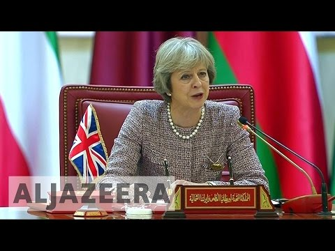 UK prime minister attends GCC summit