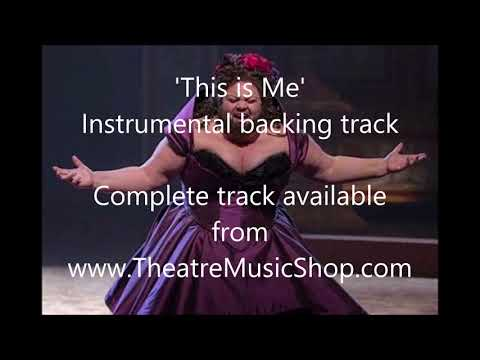 This is Me (The Greatest Showman) - Instrumental backing track