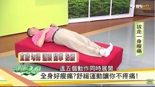 全身痠痛?舒緩運動讓你不疼痛!健康2.0