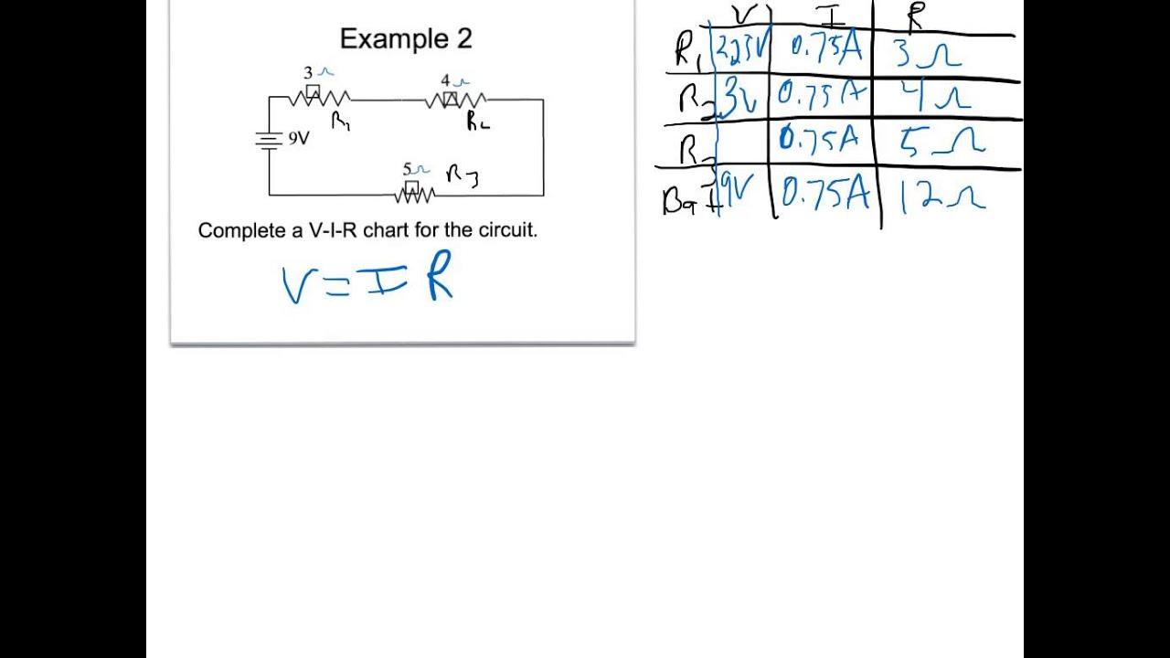 Total Current Series Circuit
