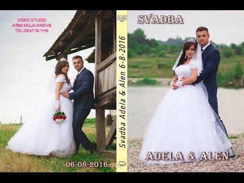 Svadba Adela i Alen 1 dio (HD)  Banovići-Seona i Živinice Rest-Estrada 6 8 2016 Asim Snimatelj.