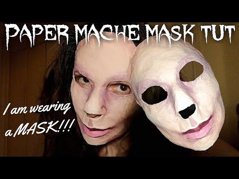 How to make a fitting Paper Mache Mask (Perfect fit) - EASY TUTORIAL