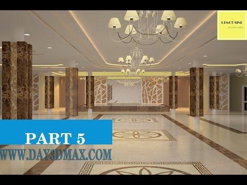 Học 3ds max 5 p5 vẽ nội thất nhà hàng tiệc cưới learning 3ds max draw an interior wedding restaurant