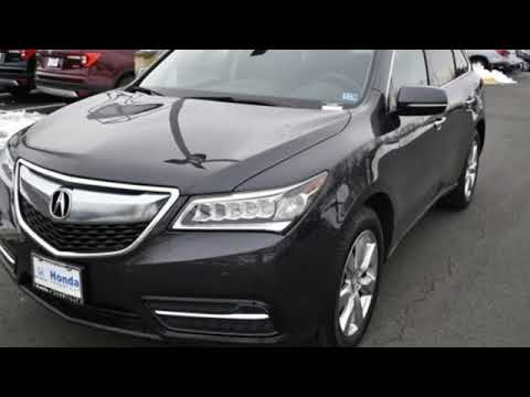 Used 2016 Acura MDX Washington DC MD Chantilly, DC #HP19034 - SOLD