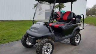 48 Volt Custom Lifted Club Car Precedent Golf Cart