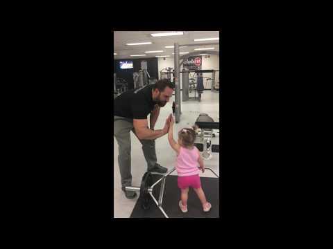 Warrior Speerit Fitness Daddy Daughter Workout