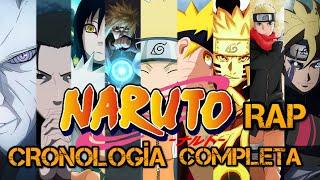 CRONOLOGÍA COMPLETA de NARUTO RAP | Crónologias Anime Rap | Gaara1017