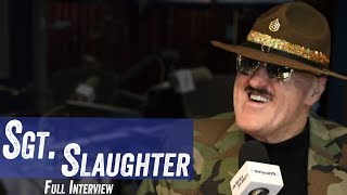 Sgt Slaughter - Wrestling After Vietnam, Becoming a Heel, Andre The Giant - Jim & Sam