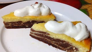 Запеканка Шоколадно Банановая Нежность. Chocolate Banana Tenderness Casserol.