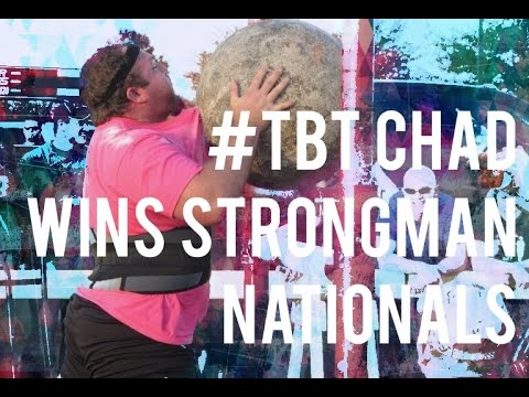 #TBT Chad Wins Strongman Nationals | JTSstrength.com