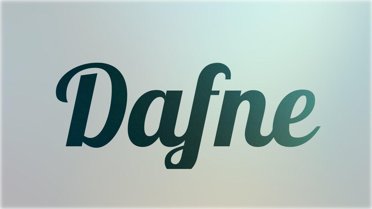 Significado De Dafne Nombre Griego Para Tu Bebe Ni O O