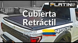 Cubierta Retráctil Platino - Ford Raptor Doble Cabina