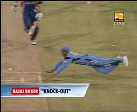 kaif runsout nick knight at world cup 2003.mpg