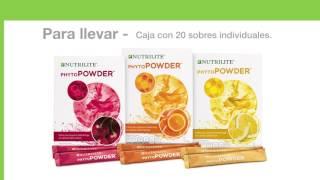 Phyto Powder de Nutrilite -México.