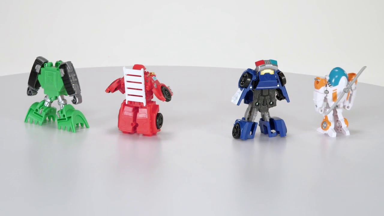 New Transformers Rescue Bots  Rescue Team Playskool Heroes