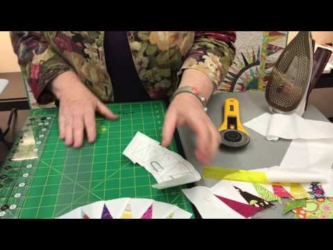 Learn Paperless Paper Piecing In A Snap
