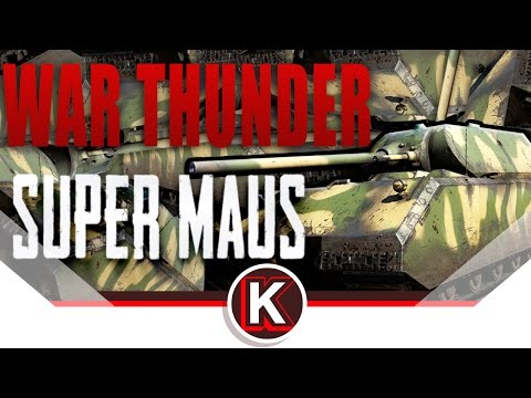 SUPER MAUS Auto Cannon | TUNISIA CITY FLATTENED | War Thunder