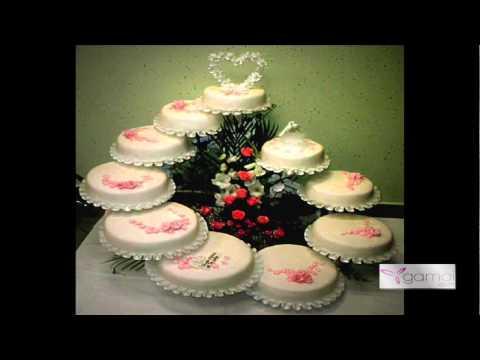 Τούρτες γάμου Tourta gamou Wedding Cakes by www.gamoi.com