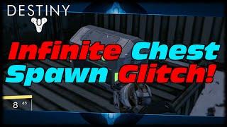 Destiny Infinite Chest Glitch! How To Spawn Trap Farm Unlimited Chests In Destiny!