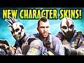 COD Ghosts: 5 New DLC Skins! Soap Legend Pack, Extinction Squad Pack & Ghost(Call Of Duty Micro DLC)