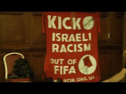 red card israeli racism