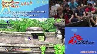 Summer Games Done Quick 2014 - Part 32 - Sonic Unleashed