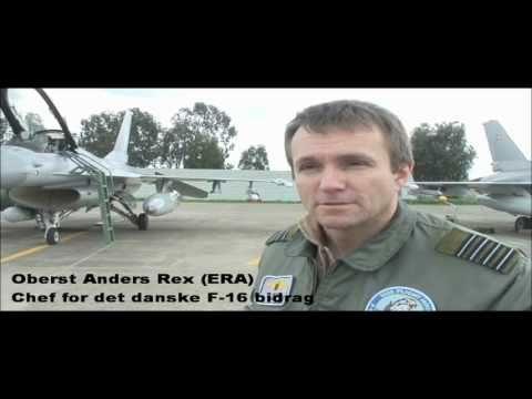 Interview Med Chefen For Det Danske F-16 Bidrag