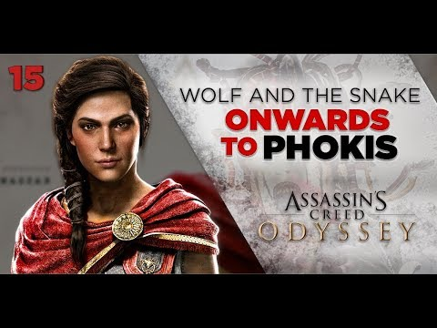 Assassins Creed Odyssey Gameplay | Wolf and the Snake - Onwards to Phokis [15] 1