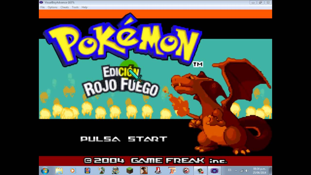 Como Descargar Pokemon Rojo Fuego Para Pc Emulador Youtube