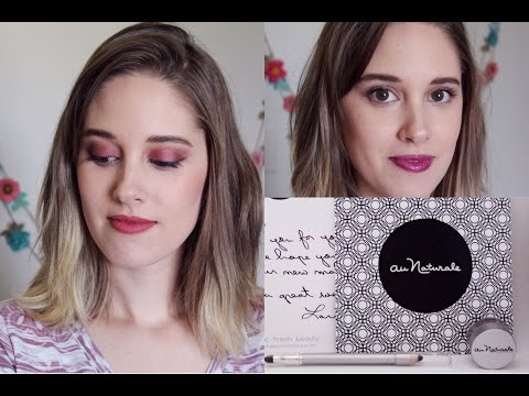 Au Naturale First Impression And Review || Organic, Vegan Makeup Reivew