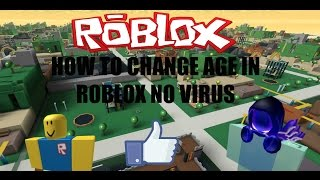 HOW TO CHANGE AGE IN ROBLOX! (PATCHED)