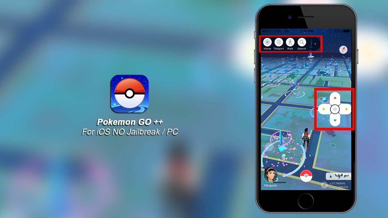pokemon go joystick download iphone