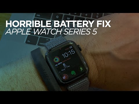 Apple Watch Series 5 Battery Issue Fix