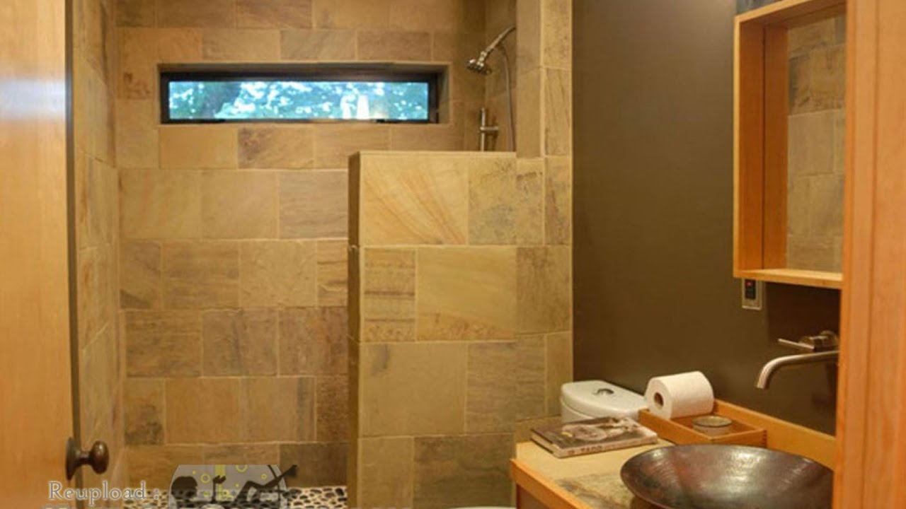 Small Bathroom Designs With Walk In Shower - YouTube