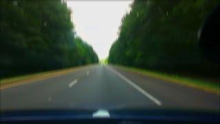 Road Timelapse: Plano, Texas to Little Rock, Arkansas