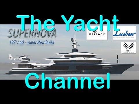 60-meter Vripack designed Supernova New Build Yacht Project