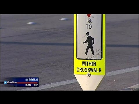 Flashing lights to be added to Ft. Worth crosswalk