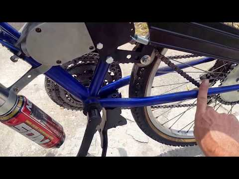 motorized bicycle tips and tricks
