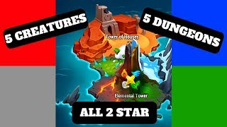 ELEMENTAL TOWERS & HOUSES guide   Might and Magic Elemental Guardians