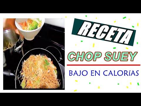 Comidas para Bajar de Peso  Chop Suey con Verduras  YouTube
