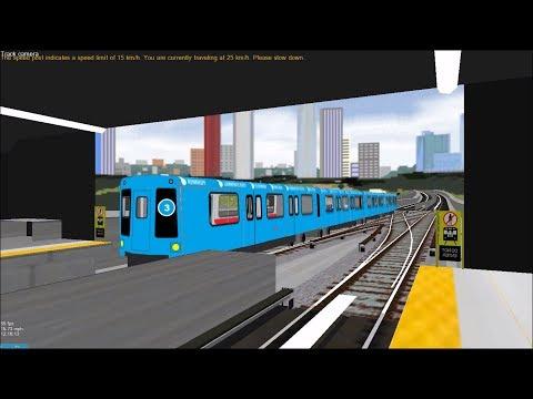 OpenBVE HD: Chasing TTC UTDC ICTS ART Mark 1 on Line 3 Scarborough (Kennedy to McCowan)
