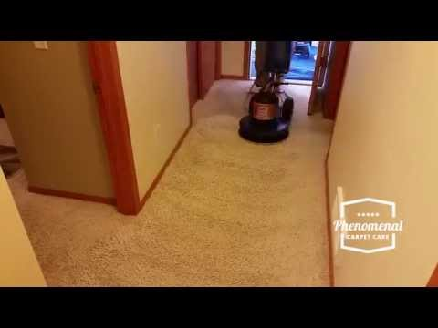 Carpet Cleaning Timelapse