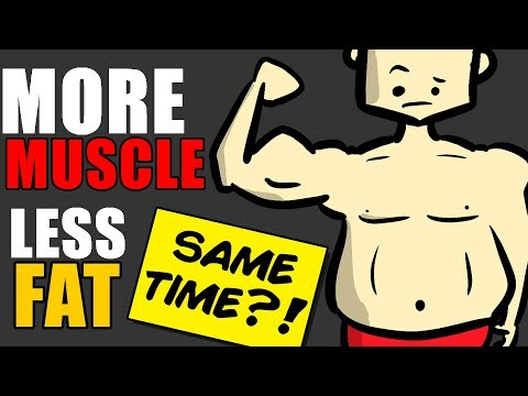 Can You Build Muscle and Burn Fat at the SAME TIME?   Body Recomposition Explained