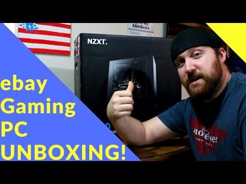 Ebay Gaming PC UNBOXING W/ Gameplay