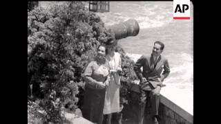 President Of Chile At Home - 1939 - some sound