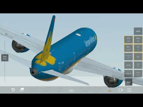 [HD] Infinite Flight Simulator Vietnam Airline