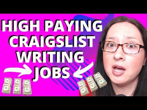 Craigslist Jobs For Freelance Writers – Find HIGH PAYING Craigslist Writing Jobs