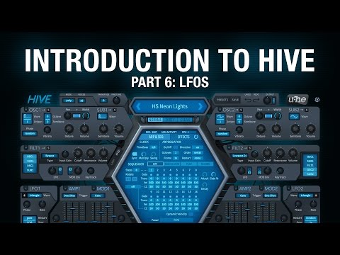 Introduction to Hive - 6 LFOs