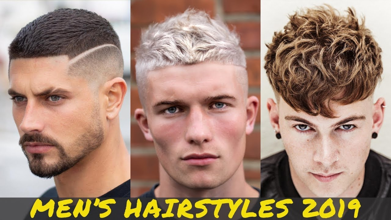 Coolest Men S Hairstyles 2019 Best Men S Haircut Trends Youtube